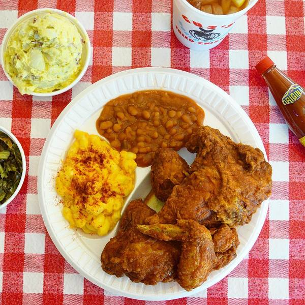 """Fried Chicken Plate"" by Gus's World Famous (@crystalcoser)"