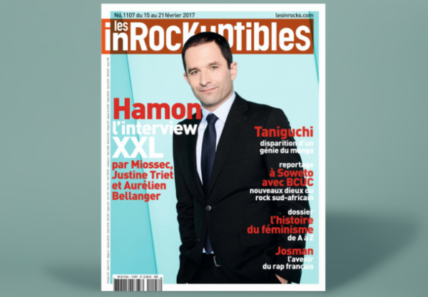 De socialistische presidentskandidaat Benoît Hamon