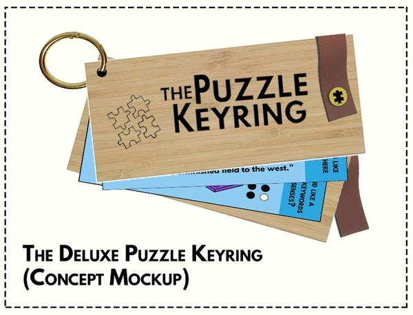 The Puzzle Keyring by Richard Malena —Kickstarter