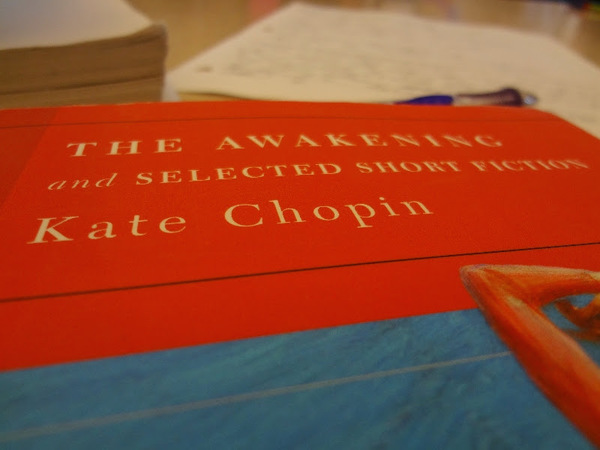 Always a good choice: The Awakening, by Kate Chopin.