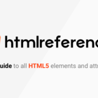 A free guide to all HTML elements and attributes.