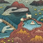 What I Learned from Ten Years of Making Illustrations of Monkeys, Mountains and Monsters