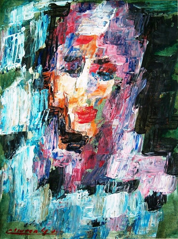 Woman in the ruins 2006