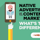 Native Advertising vs Content Marketing: What's the Difference?