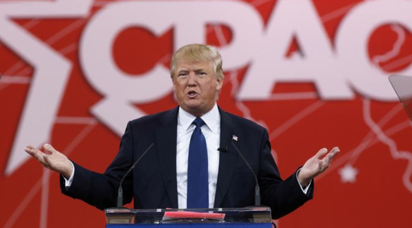 Trump sprak voor het laatst op CPAC in 2015 (foto: Reuters)