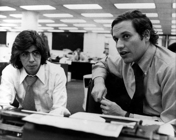 Carl Bernstein en Bob Woodward legden het Watergateschandaal bloot