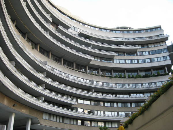 Het Watergate-complex waar Nixons mannen inbraken bij het hoofdkwartier van de Democratische Partij (foto: Wikimedia)