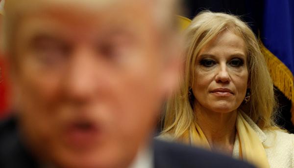Conway speelde een cruciale rol in Trumps verkiezingscampagne (foto: Reuters)
