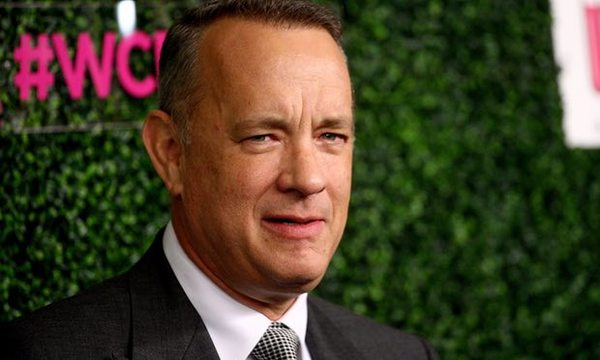 'Chiselling words' … Tom Hanks. Photograph: Tommaso Boddi/WireImage