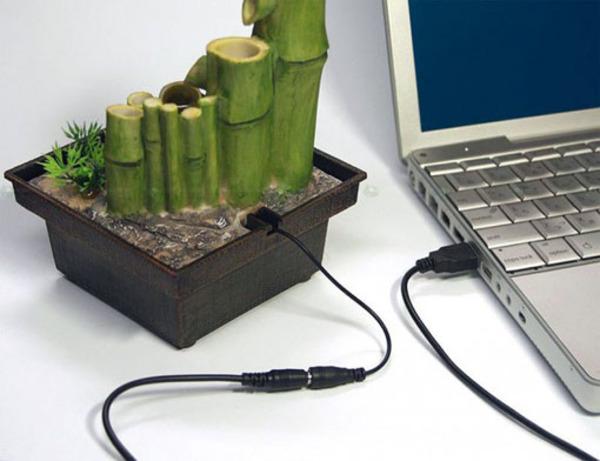 En noch is een zentuin, een zentuin als ie via USB opgeladen moet worden..