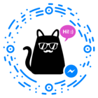 5 Fun facts about 100.000 users chatting with a cat