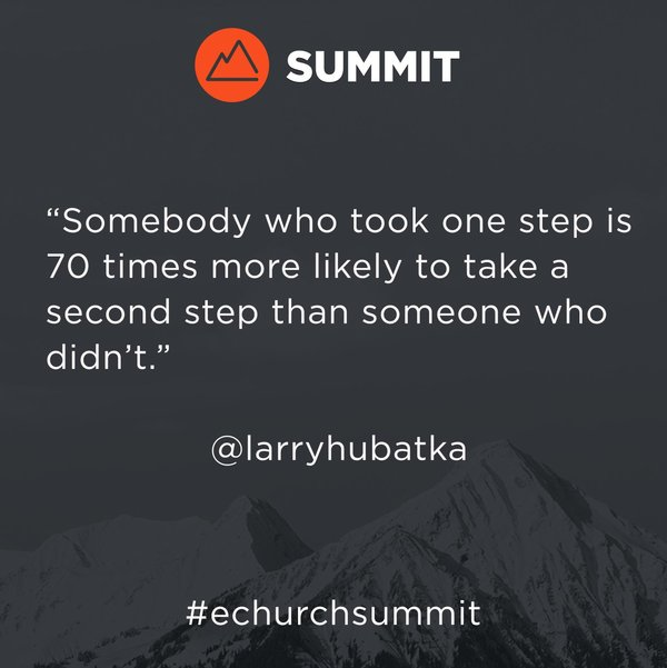 #echurchsummit = PushPay Conference