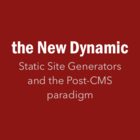 Save the Date 4/6: Event at Carrot Creative, with Contentful and Spike Details TBA -  {static is} the New Dynamic: build faster better websites (New York, NY)