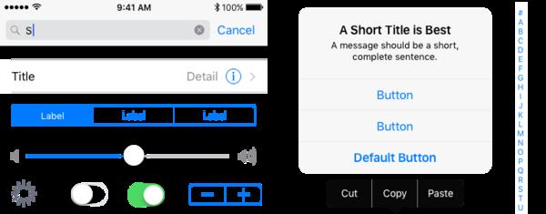 Apple'ın detaylıca paylaştığı UI şablonları iOS 10 versiyonları için geçerli