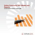 Online Community ROI: Models & Reports 2008