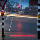 This Dutch town has traffic lights on the ground because people are staring at their phones | World Economic Forum