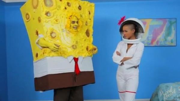 De pornoversie van Spongebob Squarepants is niet helemaal ons goesting (titel van het werk: Spongeknob Squarenuts)