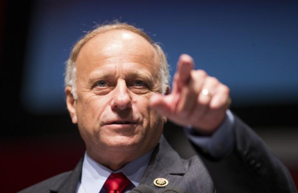 Het republikeinse Congreslid Steve King (foto: Reuters)