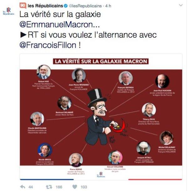 """""""De waarheid over het sterrenstelsel Macron"""""""
