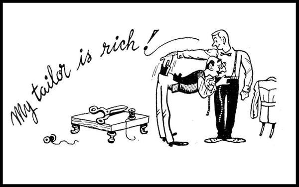 """""""My tailor is rich (but my English is poor)"""" leren de Fransen op school"""