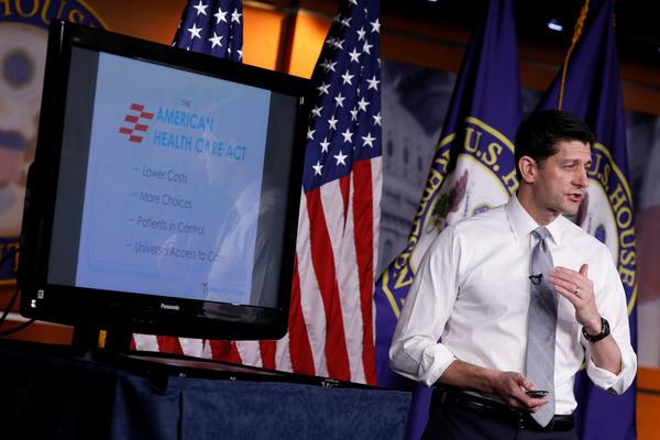 Paul Ryan, de Republikeinse voorzitter van het Huis van Afgevaardigden (foto: Reuters)