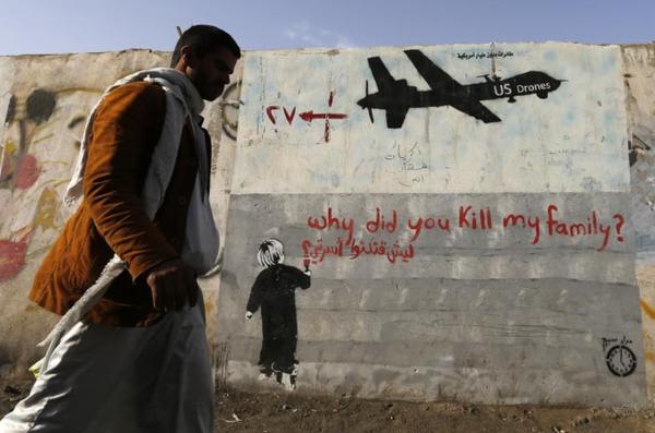 De Amerikanen voeren al jaren drone-aanvallen uit in Jemen (foto: Reuters)