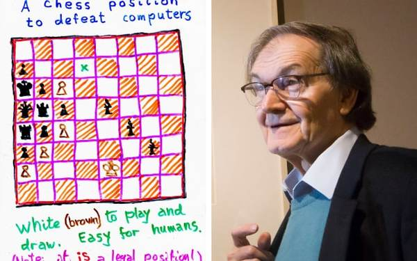 Can you solve the chess problem which holds key to human consciousness?