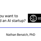 So you want to launch an AI startup?