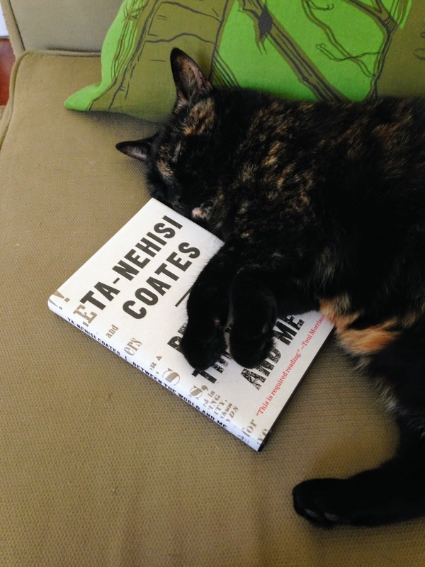Boo, who belongs to loyal subscriber Jessica, likes Ta-Nehisi Coates, too.