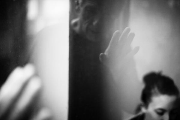 Abke Haring & Johan Leysen - een van m'n favoriete beelden van Koen