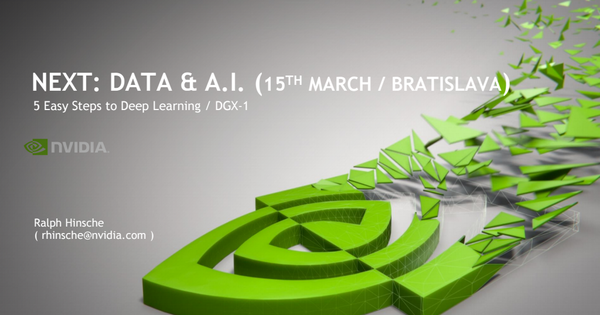 5 Easy steps to DeepLearning by NVIDIA
