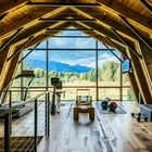 Barn living meets amazing mountain views in this guesthouse - Curbed