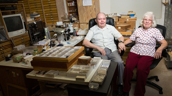 Octogenarian Couple Donates $10 Million Insect Collection : The Two-Way : NPR