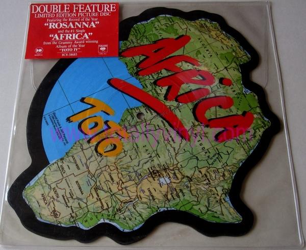 Inderdaad, Toto's klapper 'Africa' in de vorm van, uh, Afrika.