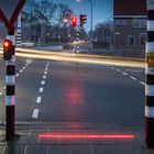 People won't stop staring at their phones, so this Dutch town put traffic lights on the ground