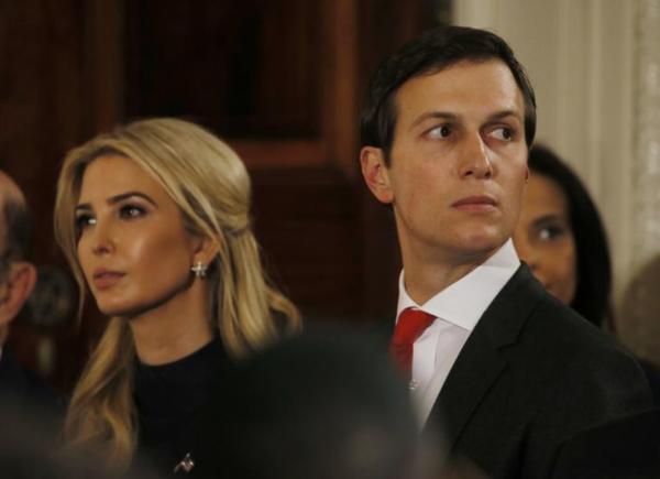 Jared Kushner, de invloedrijke echtgenoot van Trumps dochter Ivanka (foto: Reuters)