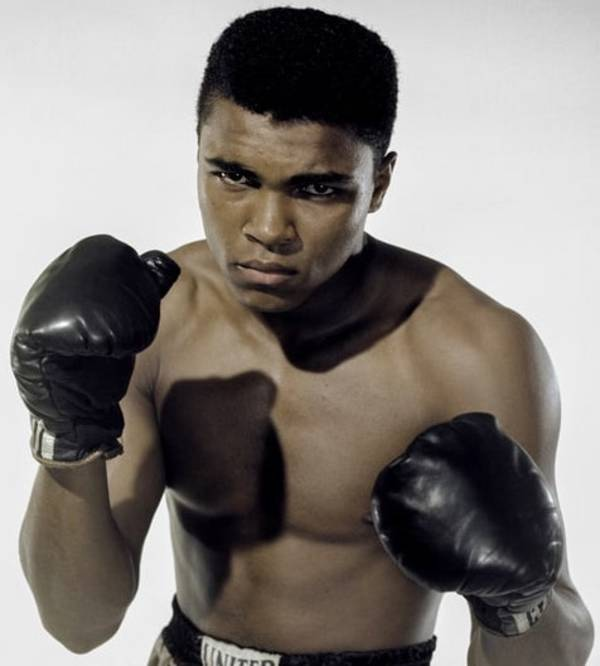 Channeling this national treasure (Mohammed Ali).