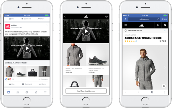 Facebook Rolls Out New Product-Focused Ad Format and Ad Metrics