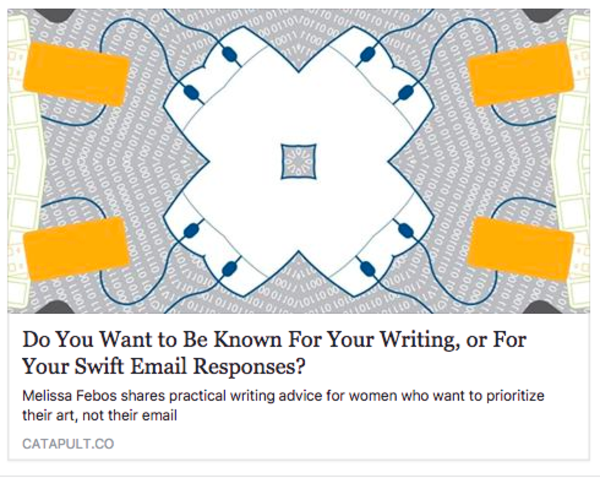 It's OK to write one line emails. You have permission.