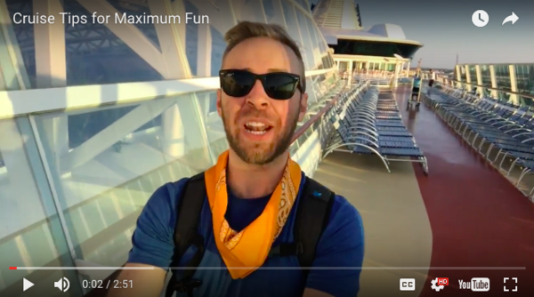 Related video: My productivity tips and tricks for your next cruise ship trip