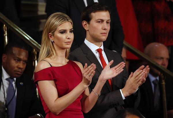 Ivanka Trump en haar echtgenoot Jared Kushner (foto: Reuters)