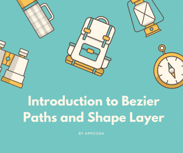 A Beginner's Guide to Bezier Paths and Shape Layers - AppCoda