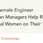 Ask a Female Engineer: How Can Managers Help Retain Technical Women on Their Team? – Y Combinator