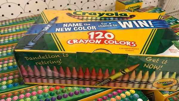 Crayola Retires Dandelion Crayon, Drops Hints About Its Replacement [Video]