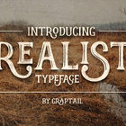 FREE - Realist Typeface