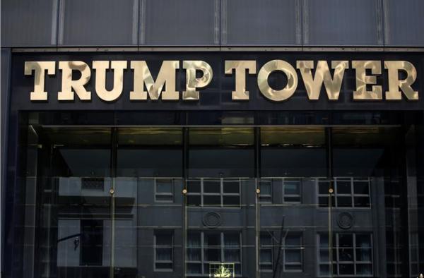 Trump Tower in New York, het hoofdkwartier van de Trump Organization (foto: Reuters)
