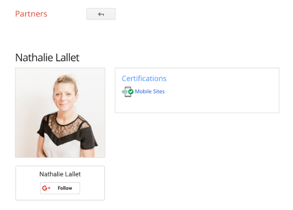 Google Mobile Sites certification for web developers