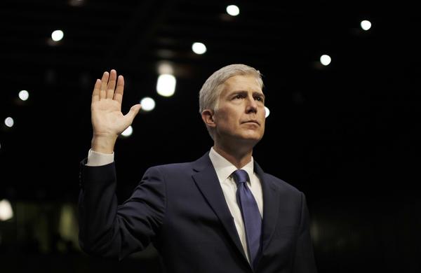Neil Gorsuch, kandidaat-rechter voior het Supreme Court (foto: Reuters)
