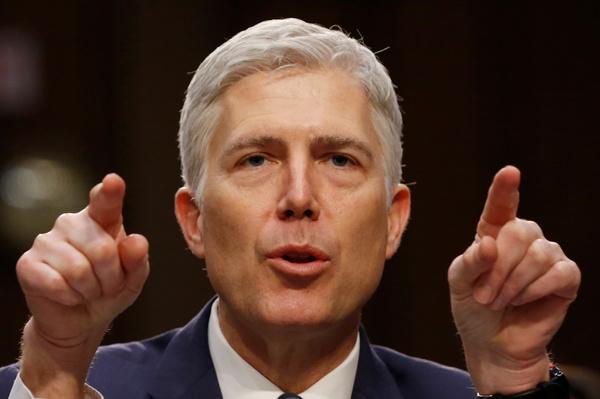 De Republikeinen zetten de nuclear option in om de benoeming van Neil Gorsuch voor het Hooggerechtshof te forceren (foto: Reuters)