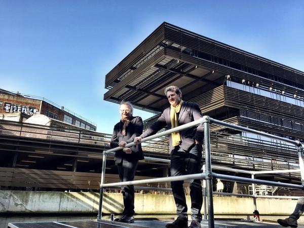 Coussée (r.) & Goris, de architecten van de Krook.